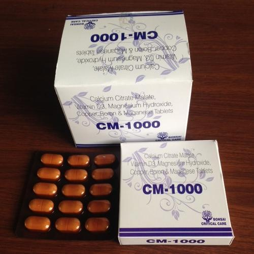 Calcium, D3, Mg, Copper, Boron, Mn Tablet