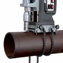 Pipe Drilling Attachment