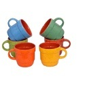 Multicolor Ceramic Matte Cup