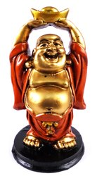 Eshoppee Antique Color Laughing Buddha For Home Decoration And Goodluck