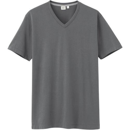388c9f299ba Medium Plain Mens V Neck T Shirt