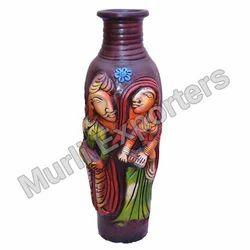 Clay Decorative Vase