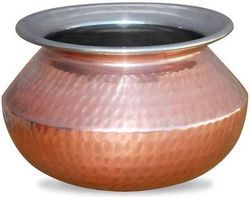 Copper Punjabi Handi