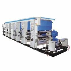 Automatic Rotogravure Printing Machine