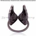 Angel Diamond Wings Ring