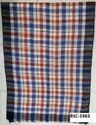 Viscose Yarn Dyed Check Stoles