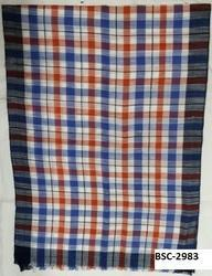Viscose Yarn Dyed Check Stoles
