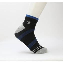 Woodland BD 158 Striped Ankle Length Men's Socks