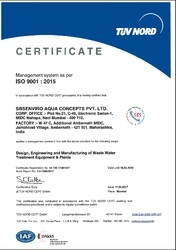 ISO TUV NORD CERTIFICATION