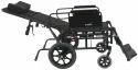 Long Backrest Wheelchair