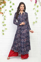 CASUAL KURTI WITH PLAZO