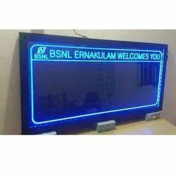 Rectangular LED Writing Board
