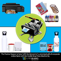 Sublimation Double Mug Heat Press Machine