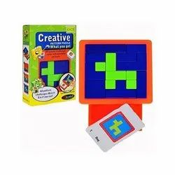 Non-Toxic Creative Pattern Puzzle Game
