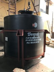 HDPE Conical Bottom Storage Tank