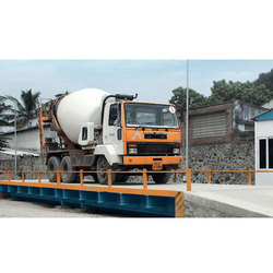 Paper Industry Concrete Weighbridge