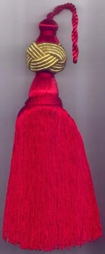 Refratex India Red Attractive Christmas Tassel