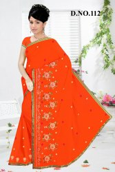 112 Embroidered Sarees