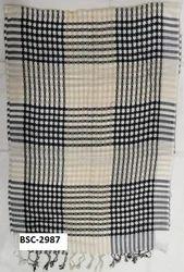 Viscose Yarn Dyed Check Shawls