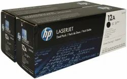 HP 12A 2-pack Black Original LaserJet Toner Cartridges