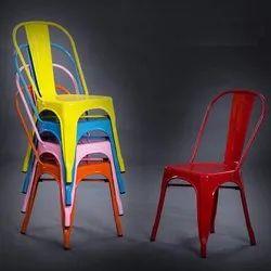 Steel Chair Tolix Design Replica