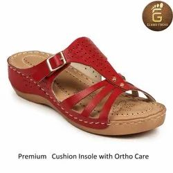 Red Ladies Footwear