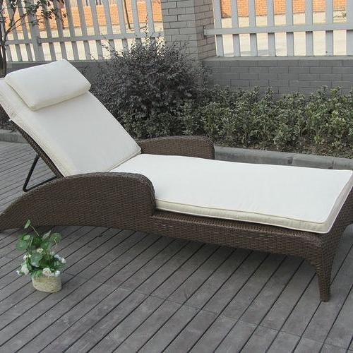 Modern Poolside Lounger
