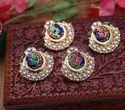 Kundan Peacock Earring
