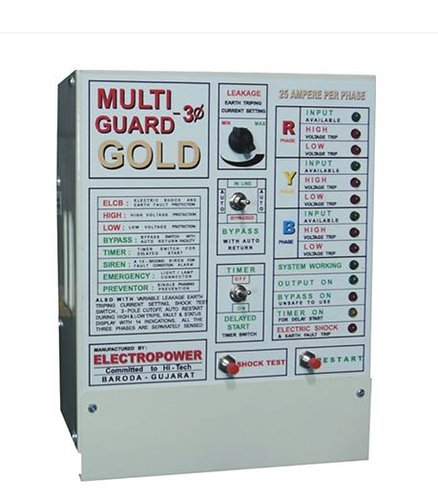Multiguard Gold 3 Phase Timer | ELECTROPOWER WORLD