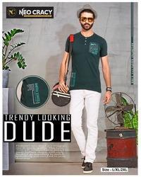 Mens Trouser And Half Sleeve T Shirt