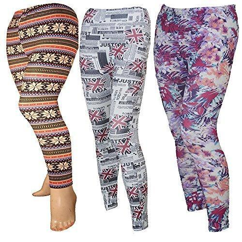 631510fe57 Hosiery Straight Fit Ladies Printed Legging, Size: Medium And XL, Rs ...