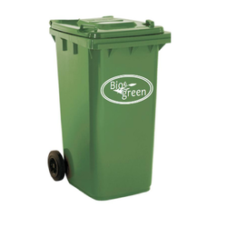 Dust Bins and Garbage Trolley