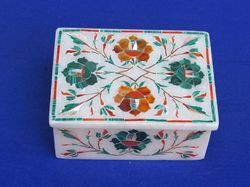 Designer Marble Inlay Boxes