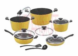 Cookware Set- 12 Pcs. Dark Rock