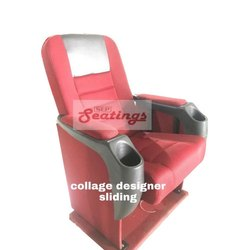 College Designer Sliding Chair