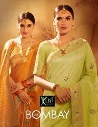 Kessi Bombay Silk Jacquard Fancy Saree Catalog