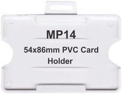 MP14 PVC Card Holders