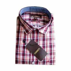 Men's Cotton Half Sleeves Formal Shirt, Size: S-XXL