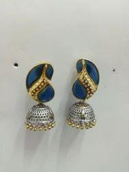 Stone  Fashion Oxidized  Earring.