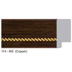 114-MS Series Copper Photo Frame Moldings