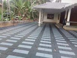 Solid Concrete Interlocking Paving Block, Size: 9*4, Thickness: 50mm