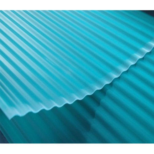 Galvanised Corrugated Plastic Roofing Sheets Thickness Of Sheet 2 To 5 Mm Rs 400 Square Meter Id 20697964273