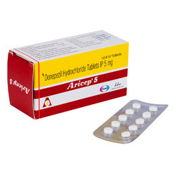 5 Mg Donepezil Hydrochloride Tanlets IP