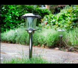 LED Aluminium Solar Garden Light