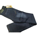Plain Blue Denim Regular Fit Jeans, Waist Size: 28 To 36 Inch