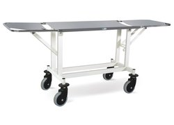 Double Fold Patient Stretcher Trolley MS Frame