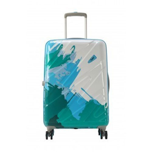 ab126eabe Polycarbonate Skybag Mirage 80 360 Degree Blue Trolley Bag