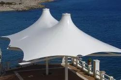 PVC Conical Tensile Roof