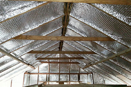 Mettcover 1200 Mm Roof Reflective Bubble Insulation 4 Mm