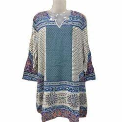 Full Sleeves Ladies Designer Printed Top